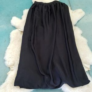 Mossimo Long Black skirt